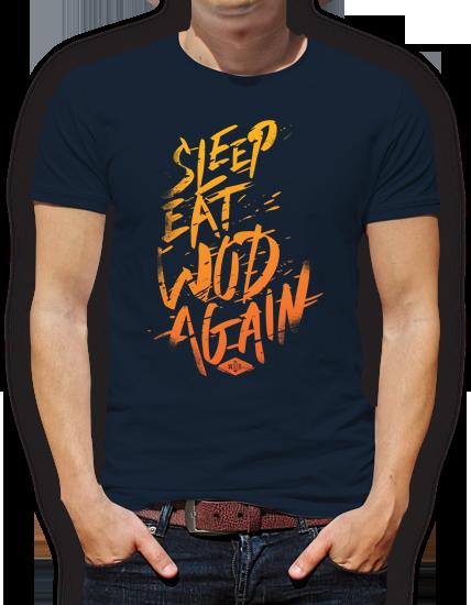 camiseta wod diseño grafico pacografico