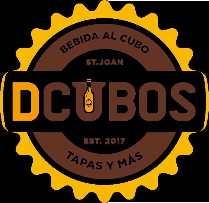 diseño de logotipo cervecería dcubos san juan de alicante