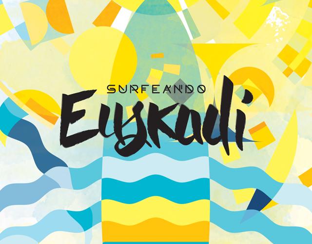 diseño gráfico, ilustración y maquetacion editorial guías surfeando