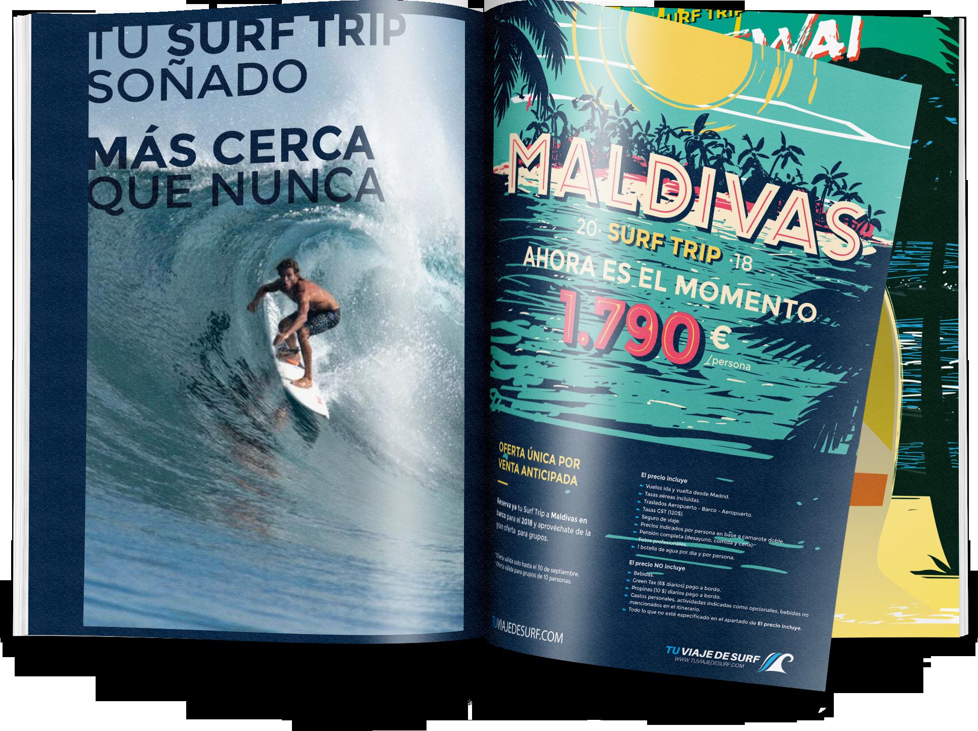 diseño gráfico freelance y diseño de publicidad y camisetas tu viaje de surf