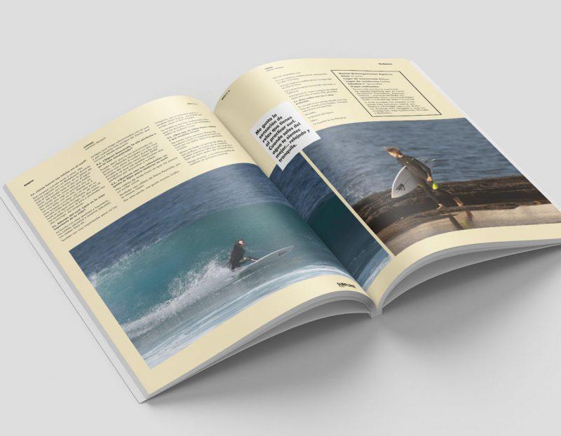 diseño grafico editorial surflimit diselñador grafico freelance aliante