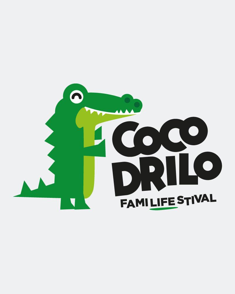 diseño de logotipo alicante cocodrilo festival diseñador grafico y web freelance alicante