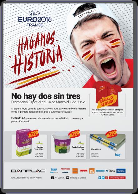 diseño grafico cartel promoción danplac