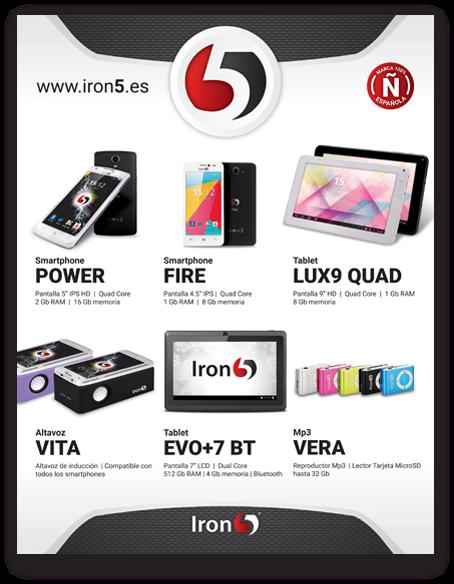 diseño grafico publicidad impresa iron5