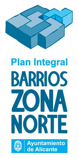 diseño de logotipo plan integral barrios zona norte alicante
