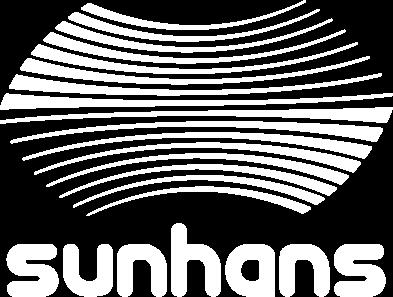 Diseño grafico de logotipo, diseño de packagings y diseño de stand sunhans