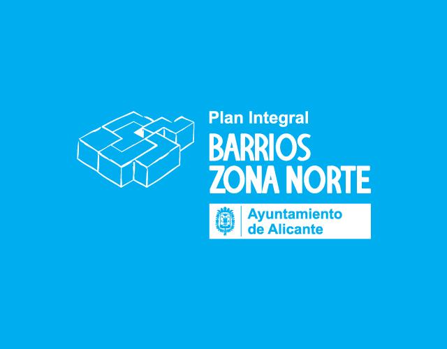 Diseño de Identidad Visual Corporativa Plan Integral Barrios Zona Norte de Alicante paco grafico