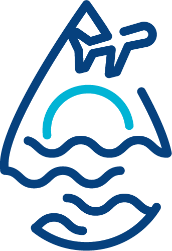 diseño de logotipos alicante, diseño gráfico freelance y diseño de publicidad y camisetas tu viaje de surf