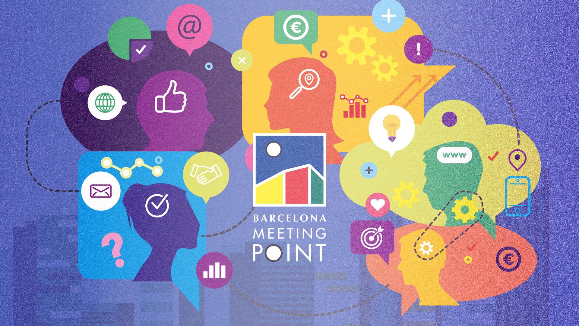 diseño de ilustración para meeting point blog kasaz diseño grafico