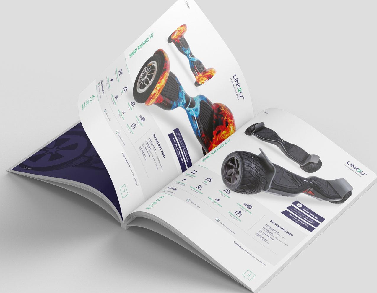 diseño editorial de catalogo de producto diseño grafico freelance aicante