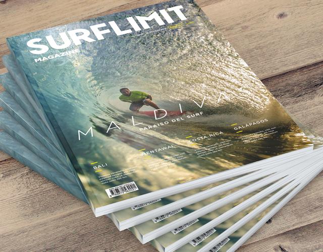 diseño grafico editorial revista surf limit diseñador gráfcio freelance alicante