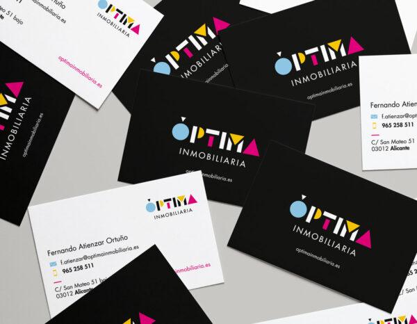 diseño grafico tarjetas de visita diseño corporativo diseñador grafico freelance alicante